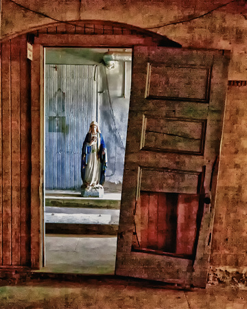 Mary in Doorway_hdr